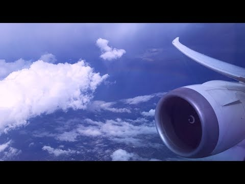 Boeing 787-8 Dreamliner in Jetstream Turbulence over Arizona