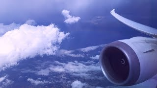 Boeing 787-8 Dreamliner in Jetstream Turbulence over Arizona
