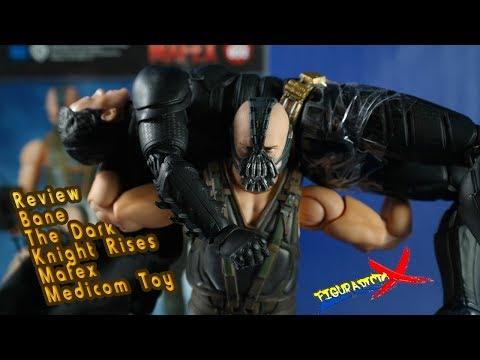 Review Bane Mafex 052 Batman Dark Knight Rises Trilogy Medicom Toy Revision Español