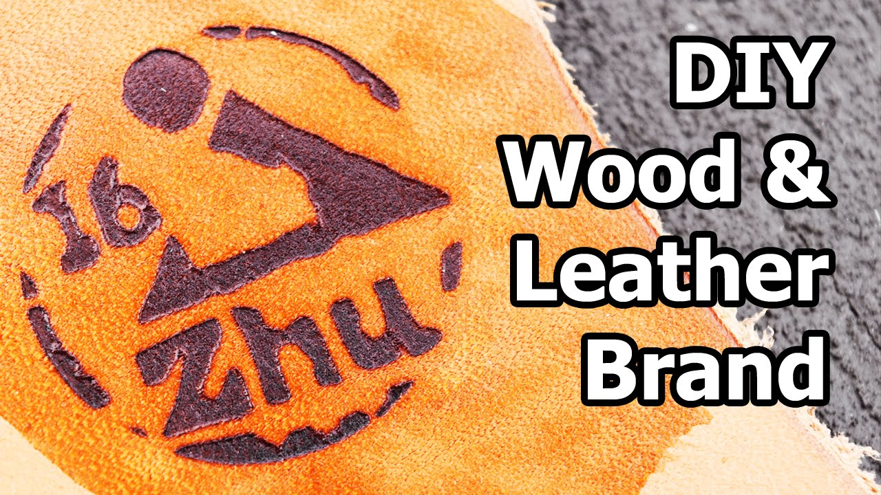 DIY Wood and Leather Branding Iron
