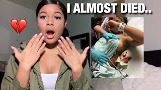 I GOT STABBED IN A FIGHT..*GRAPHIC IMAGES*   Story Time