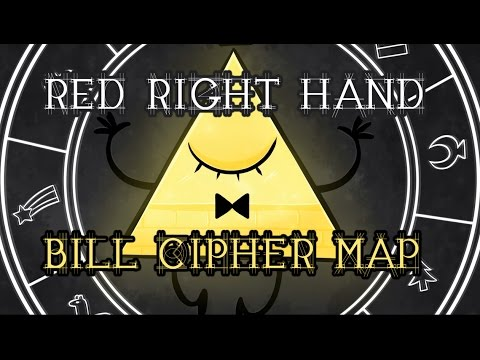 Gravity Falls   Bill Cipher AMV M.A.P - Red Right Hand [COMPLETE]