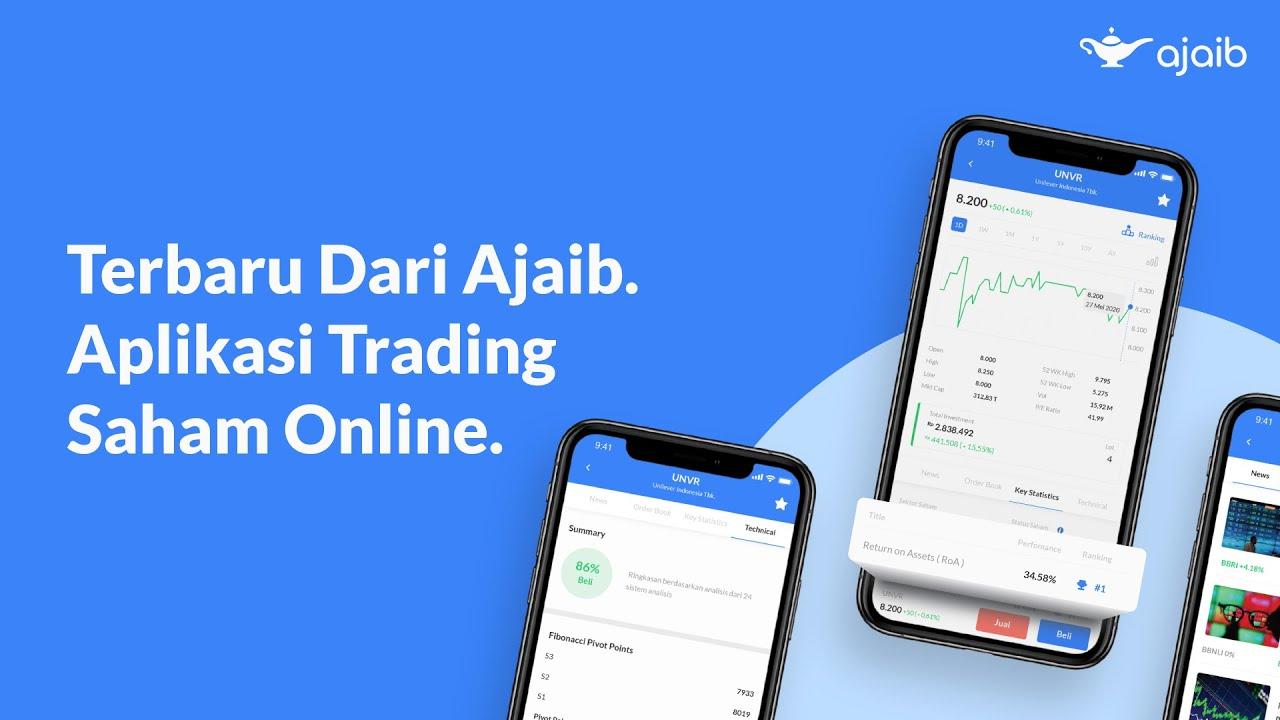 Terbaru Dari Ajaib, Aplikasi Trading Saham Online dengan ...
