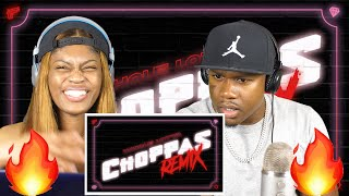 Sada Baby - Whole Lotta Choppas [Remix] ft. Nicki Minaj (Lyric Video) REACTION