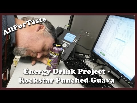 Energy Drink Project - Rockstar Punched Guava