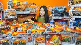 쥬라기월드 공룡 장난감 티라노사우루스 티렉스  트리케라톱스 스테고사우루스 벨로키랍토르 모사사우루스 카르노타우루스 피규어  Jurassic world dinosaur  Figures