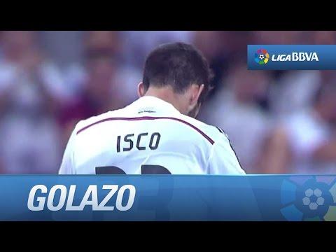 Golazo de Isco (2-2) en el Real Madrid - Valencia CF