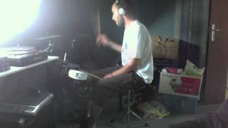 """jurassic 5 """"Great Expectations""""drum cover"""