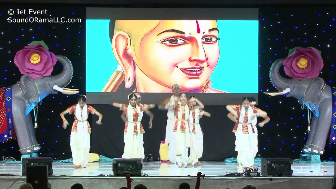 Kids Dance on HH Chinna Jeeyar Swamiji Sashtipoorthi Celebrations.