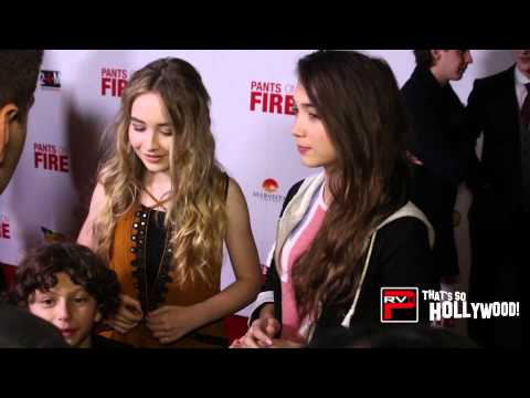 Cast of Girl Meets World Exclusive : Rowan, Sabrina & August On The Red Carpet!