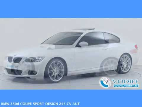 vodiff bmw occasion alsace bmw 330d coupe sport design 245 cv aut youtube. Black Bedroom Furniture Sets. Home Design Ideas