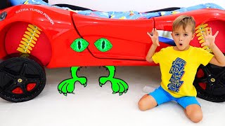 Vlad and Niki - Monster under my bed story