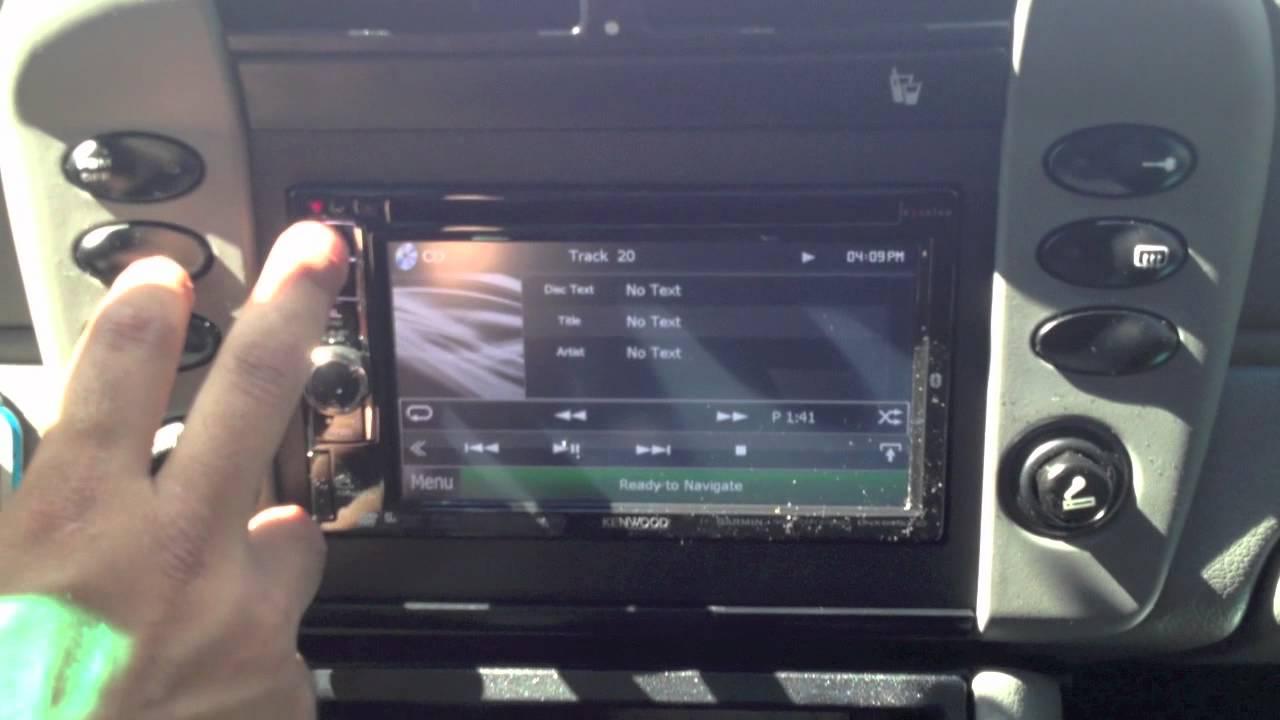 Kenwood radio amp hookup