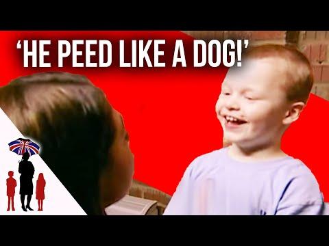 Kid Pees On Floor While In Naughty Room | Supernanny