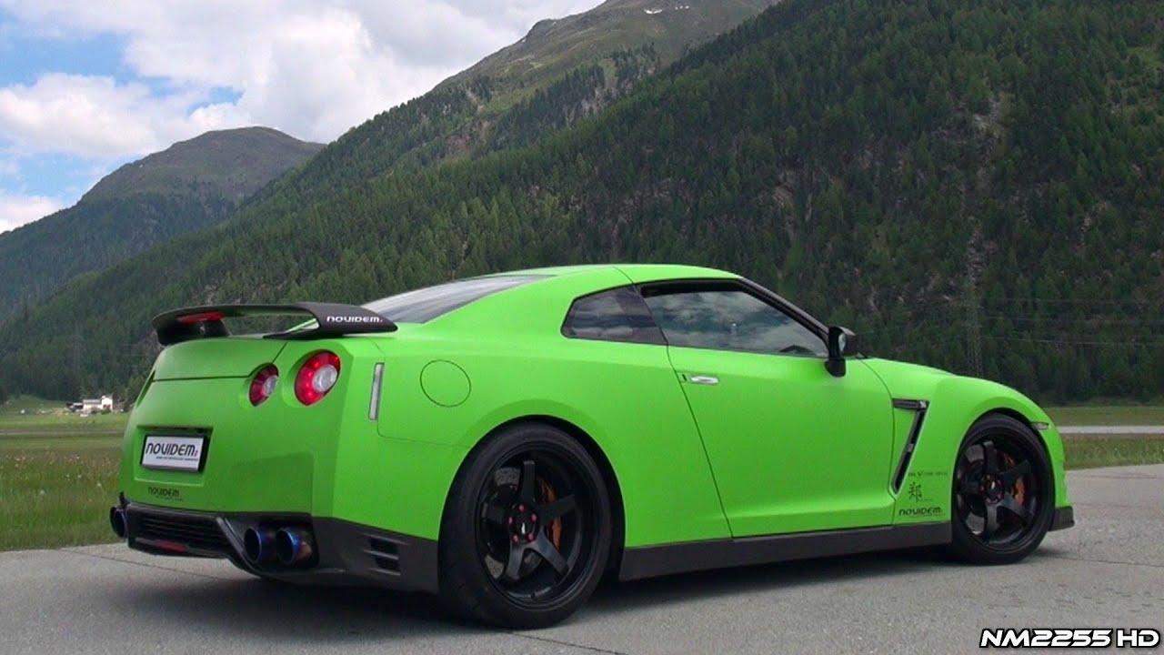 750HP Nissan GT R R35 Tuned By Novidem YouTube