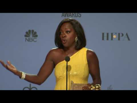 Thumbnail: Viola Davis - Golden Globes 2017 - Full Backstage Interview