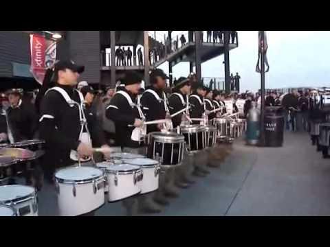 Army vs Navy Drumline Battle1