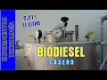 Como hacer #Biodiesel a 0,20 euros el litro. Making excellent and cheap biodiesel at home.
