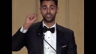 Watch Hasan Minhaj roast Trump
