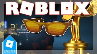 [BLOXY EVENT ENDED 2019!] HOW TO GET DIY GOLDEN BLOXY SHADE! | Roblox 6th Annual Bloxys