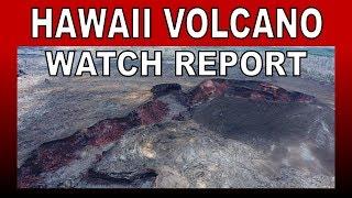 Hawaii Kilauea Volcano Eruption Watch News Report Update 6/12/2019