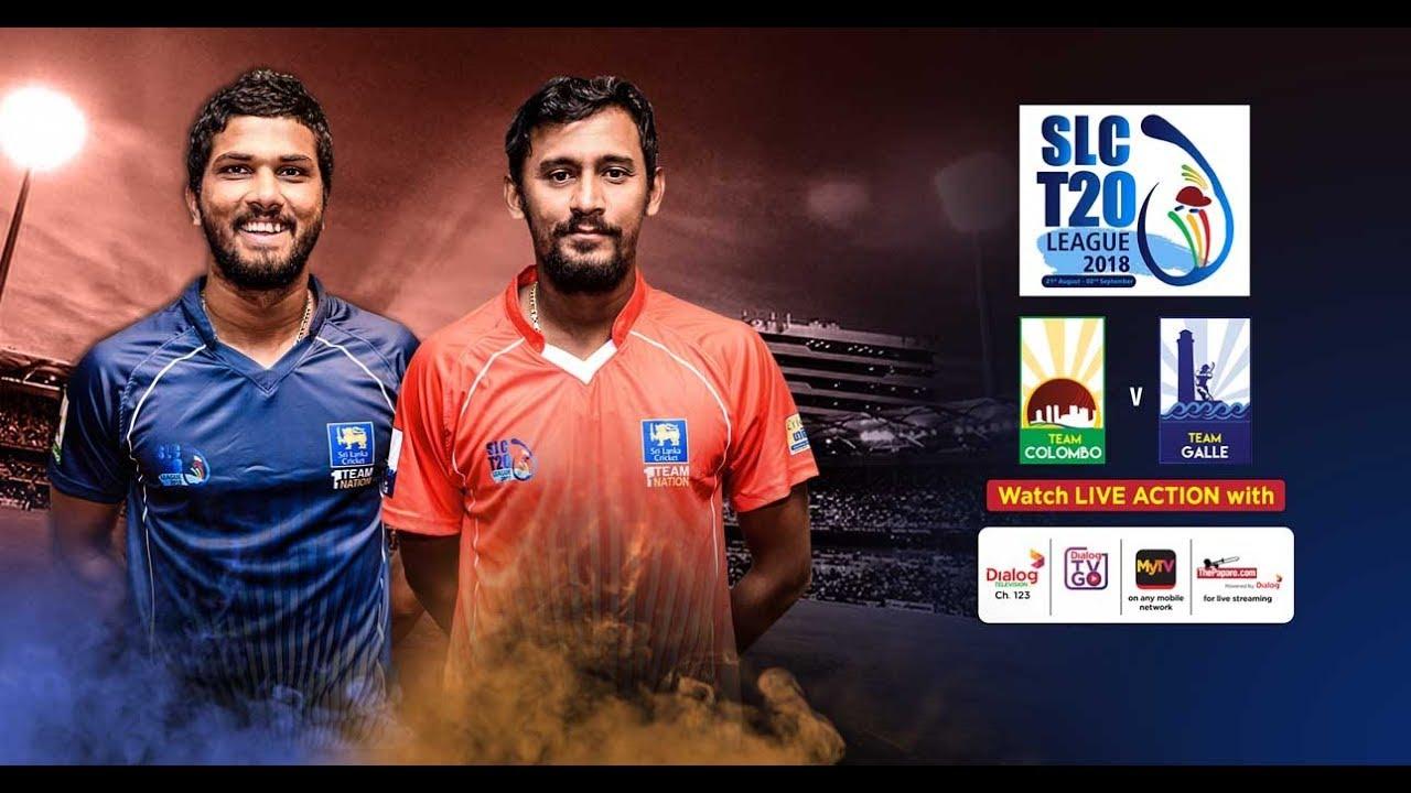 Colombo vs Galle – SLC T20 League 2018