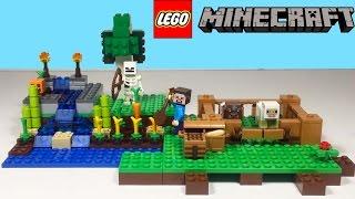 Lego Minecraft - Çiftlik Seti   Süper Oyuncaklar