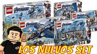 Nuevos Set LEGO Marvel AVENGERS ENDGAME Imagenes oficiales
