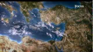 Atlante Terrestre - Il Mediterraneo
