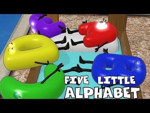 Five Little Alphabet |Nursery Rhymes for Kids | Baby Songs | Children Songs | kids song |