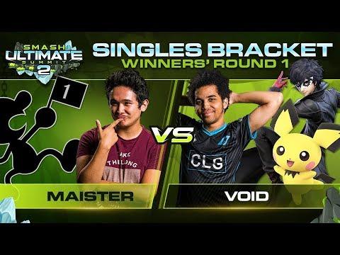 Download Maister vs VoiD - Singles: Winners Round 1 - Ultimate Summit 2 | Game & Watch vs Pichu, Joker