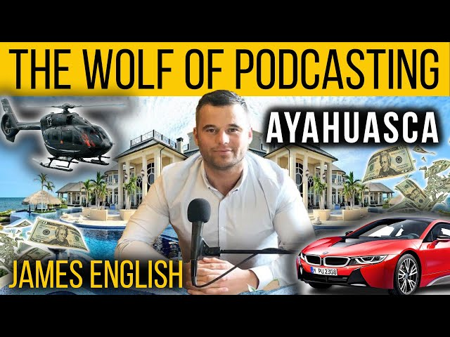 James English   Ayahuasca   Chris Thrall's Bought The T-Shirt Podcast Clips