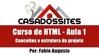 Curso completo programação web - HTML aula 1