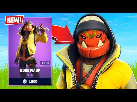 New Epic Bone Wasp Skin! (Fortnite Battle Royale)