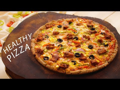 Healthy Multigrain Pizza Recipe