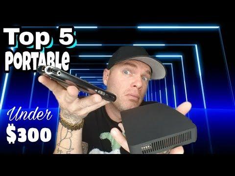 TOP 5 Portable Projectors Under $300 | Best Pocket Projectors 2017