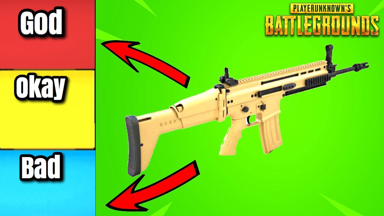 RANKING EVERY PUBG WEAPON TIER LIST EDITION!