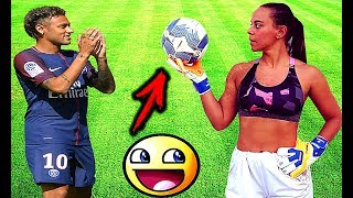 Comedy football 2018 #93 ● women soccer girls fails ● comic moments vines 2017 ● goals ● skills