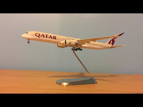 Gemini Jets Qatar Airways A350-1000 1/400 scale Review