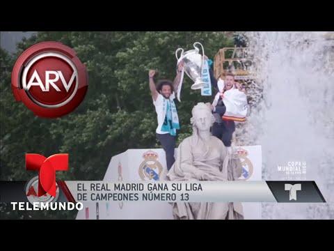 Así Celebró El Real Madrid Su Victoria | Al Rojo Vivo | Telemundo