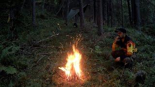 Поход с ночёвкой в лес к Карельской речке!