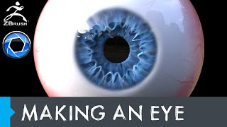 Making an Eye in Zbrush and Rendering