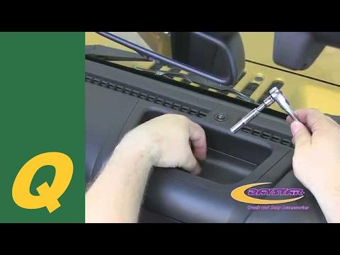 Daystar Upper Dash Panel For 2011-2015 Jeep Wrangler JK Install