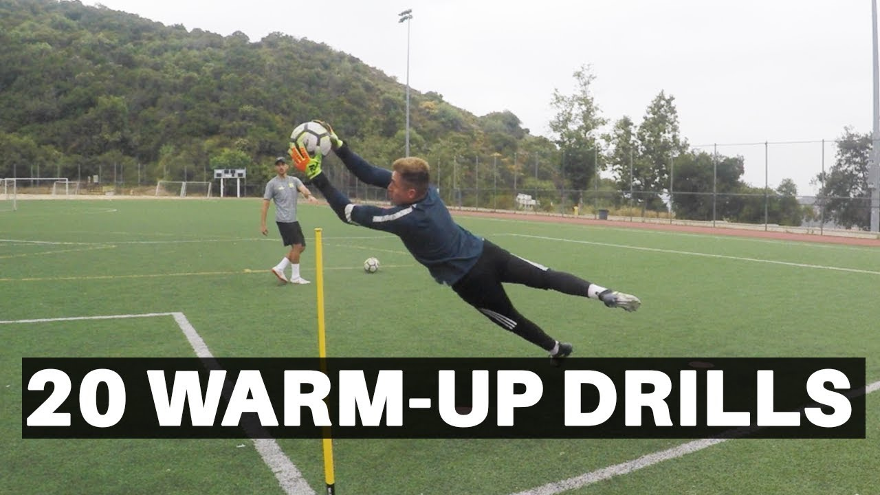 20 Goalkeeper Warm-Up Drills | Pro GK