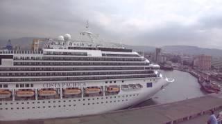 Costa Fascinosa e Costa Pacifica si salutano a Izmir