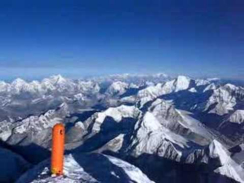 360 degree panorama from the summit of Mount Everest - YouTube