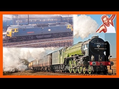Steam vs Diesel Fast Start Check: Which Comes Out On Top When Starting A Heavy Train?