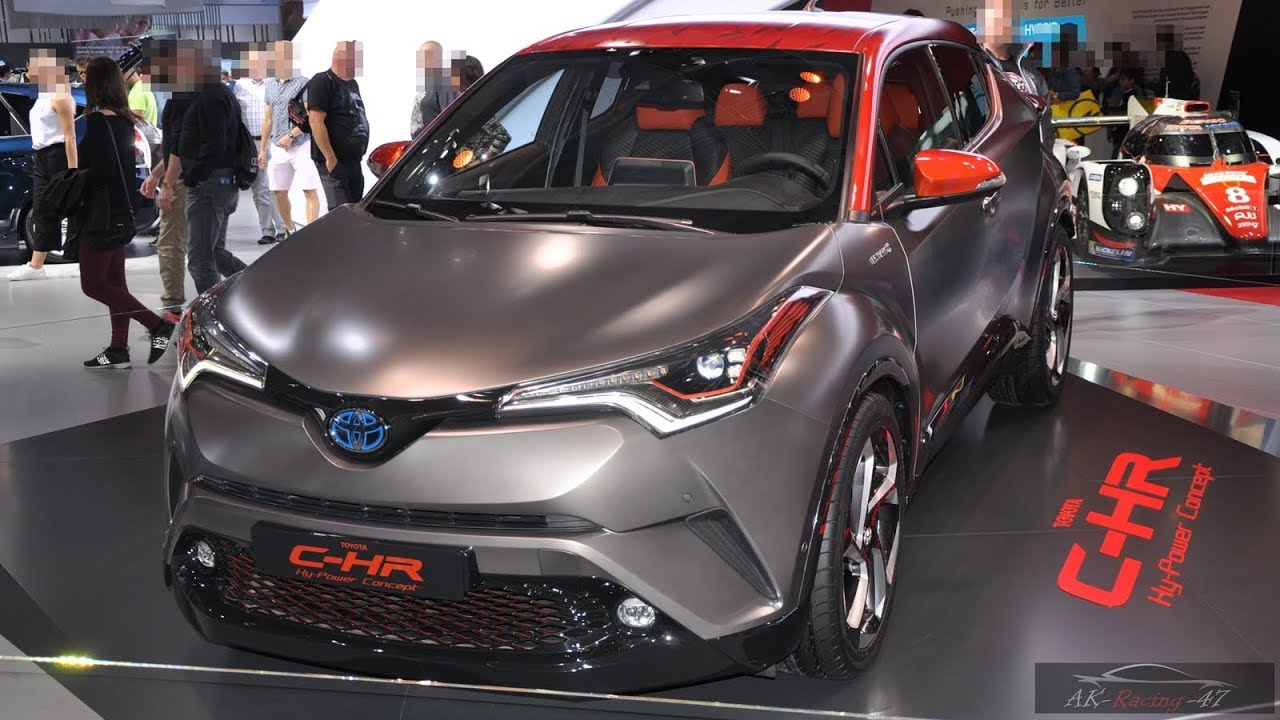 2019 toyota c hr hy power concept exterior hybrid suv new 2018 youtube. Black Bedroom Furniture Sets. Home Design Ideas