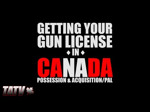 Getting Your Gun License In Canada (Non-Restricted)