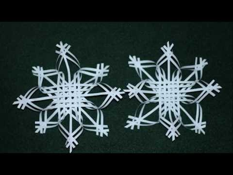 Снежинка из бумаги своими руками Шаблоны, схемы, видео